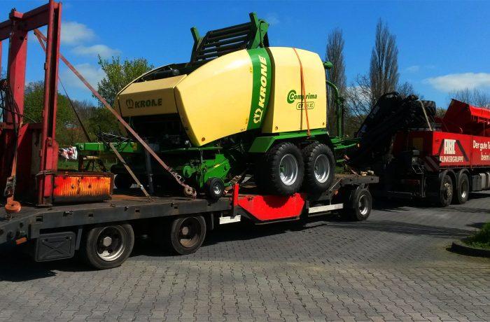 landwirtschaftliche Maschinen und -teile